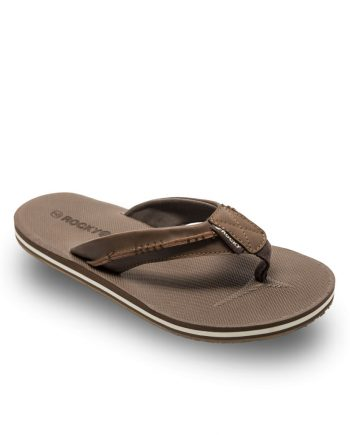 Rocky Quinn Water Friendly Thong Style Sandal in Brown main product image