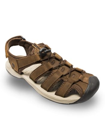 0999c0013aba Marvel Rugged Adventure Sandal with Toe Guard – Taupe
