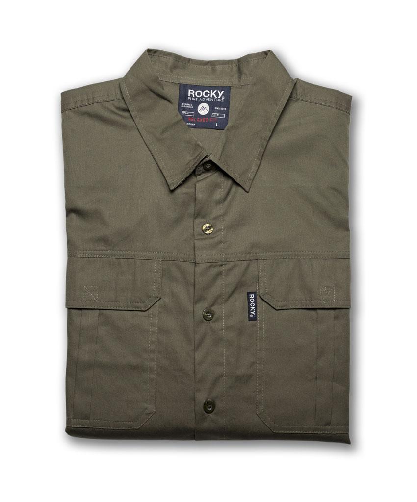 The Rocky 100% Cotton Twill Short Sleeve Shirt